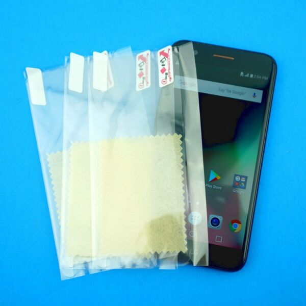 HD Plastic Clear Screen PET Protectors w Cloth for LG K20 SHIPS FAST $1.98