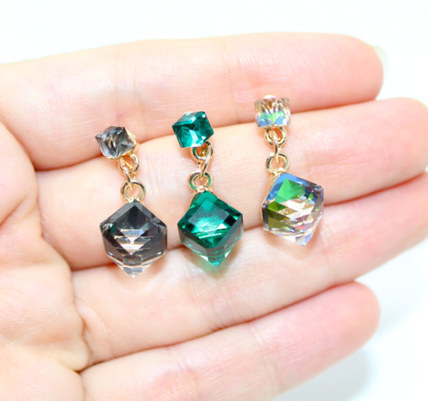 Women Earrings Crystal Rhinestone Dangle Drop Ear Stud Fashion Jewelry Gifts USA