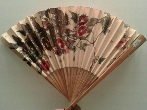 Two Different Asian Estate wood fans made by People#x27;s Republic of China $9.99