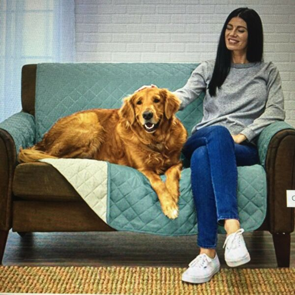 Deluxe Reversible Quilted Furniture Protector PET CHILD FOOD LOVESEAT Protector. $29.95
