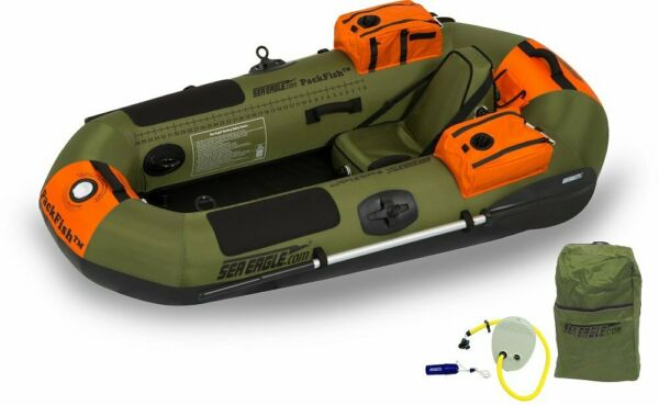 New Sea Eagle Pf7K Packfish Inflatable Boat Pro Fishing Package