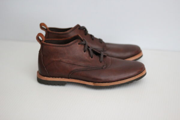 NEW Timberland Boot Co #x27;Bardstown#x27; Plain Toe Chukka Boot Brown 7US V49 $227.77