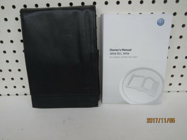 2017 Volkswagen Jetta GLI Jetta Owners Manual Set         FREE SHIPPING