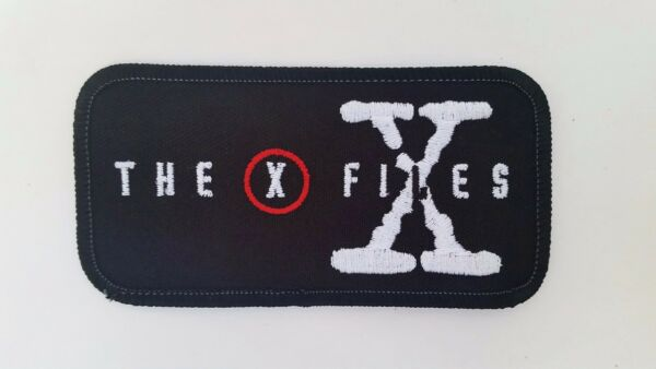 The X Files Rectangle Embroidered Patch
