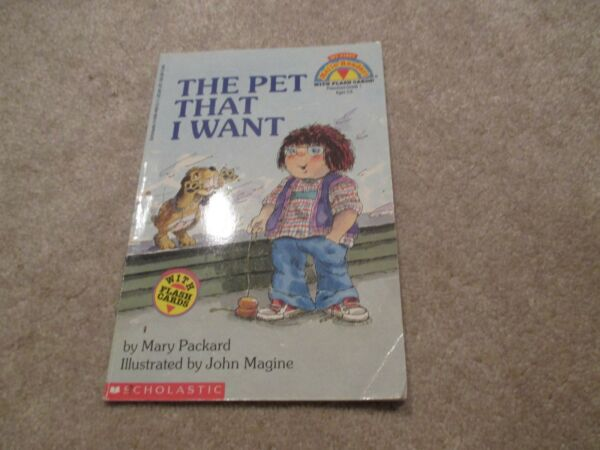 The Pet That I Want Softcover My First Hello Reader Book $4.25