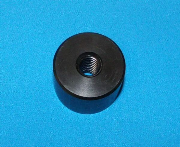 304010 cyl Cylinder nut 1 2 10 acme RH thread single start Black Delrin