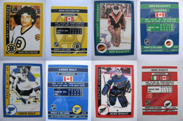 2015 SCA COMPLETE SET of 352 goalies never issued produced in NHL #d10 RAREST
