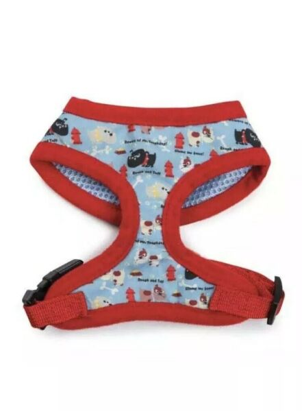 NWT Casual Canine Tough Dog Chest Plate Harness Small Blue Red So Cute $9.99
