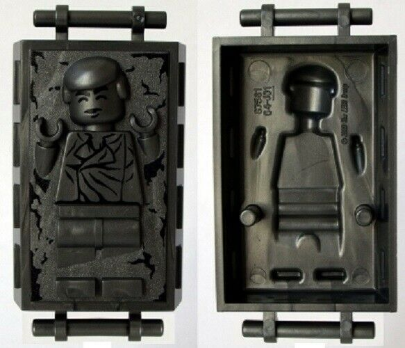 LEGO Star Wars Minifig Block with Handles and Han Solo in Carbonite 75137 $8.49