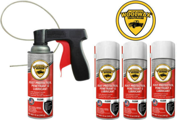 Woolwax® Spray Can Undercoating Kit.  4 cans