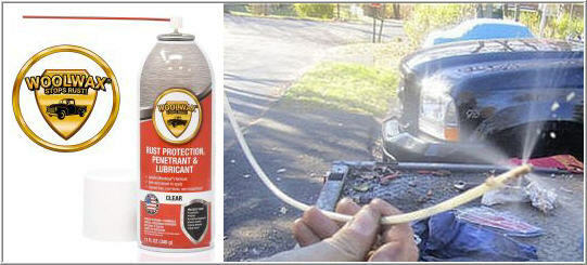 Fluid Film 360* Spray Extension Wand. Use With Fluid Film or Woolwax spray cans.