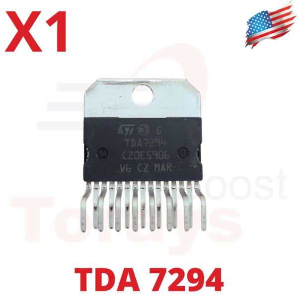1pcs TDA7294 100W 100V Audio Power Amplifier work perfect.