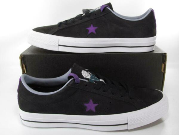 Converse x Dinosaur, Jr. One Star Sneakers Suede Black Lunarlon 158660C Men's 8