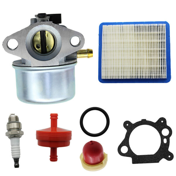 Carburetor Air + Fuel FIlter For Briggs & Stratton 6-6.75 HP Murray Snapper 22
