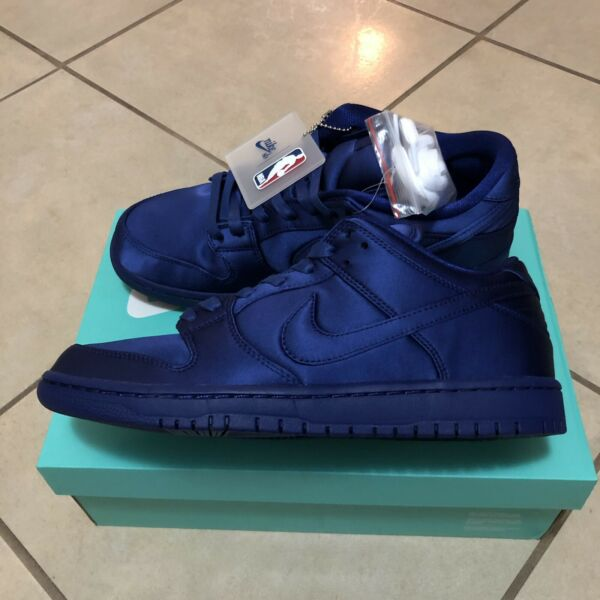 NIKE SB DUNK LOW TRD NBA DEEP ROYAL BLUE SIZE 8 NEW WITH BOX
