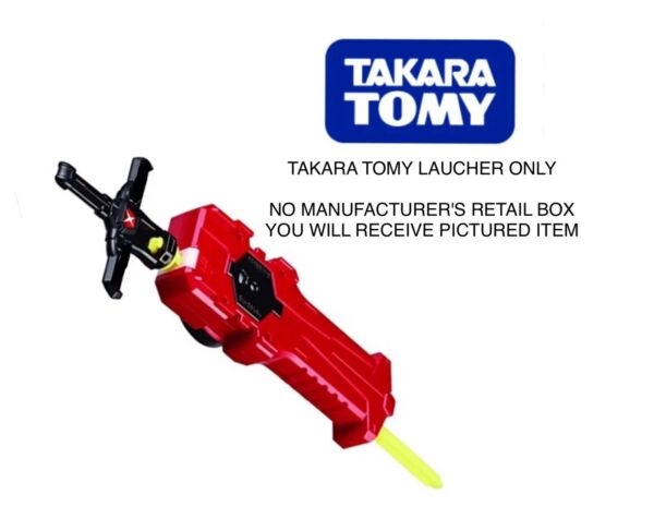 Takara Tomy Beyblade Burst Xcalibur Sword Launcher with Sword Winder Right Spin
