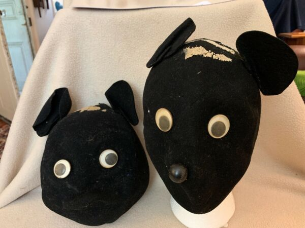 Vintage Pair of Mickey Mouseketeer Ears Hat Mask RARE Disneyanna Disneyworld