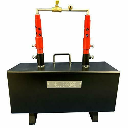 Propane Forge Knife Making Blacksmith Gas Forge Farriers Furnace HFMAX U.S.A $329.00