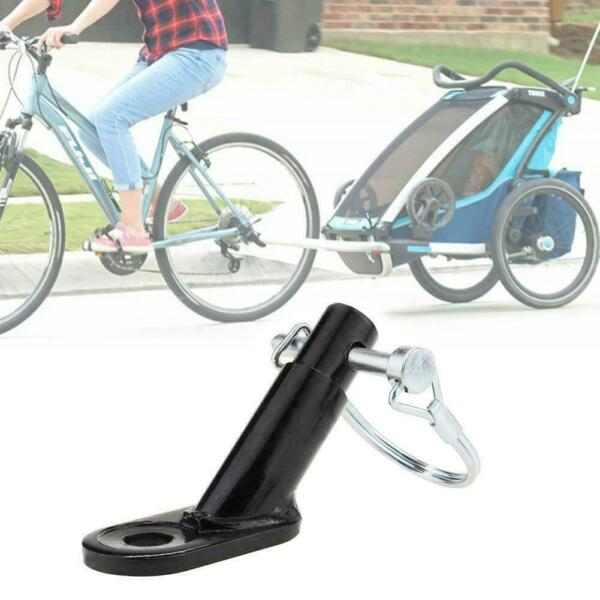 Bikes Trailers Bicycles Coupler Angled Elbow Attachment Schwinn Hitch For I T8W6 $8.29
