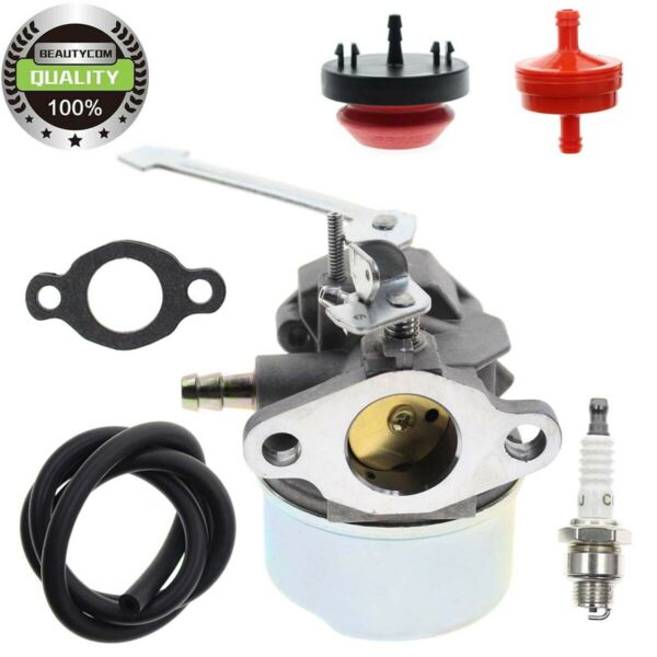 Carburetor Kit for Toro 38182 Powerlite CCR1000 w Tecumseh Engine Snow Blower