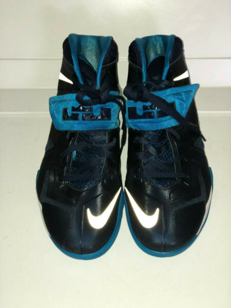 Lebron James Basketball Shoes Sneakers Blue New Open Box Size 14