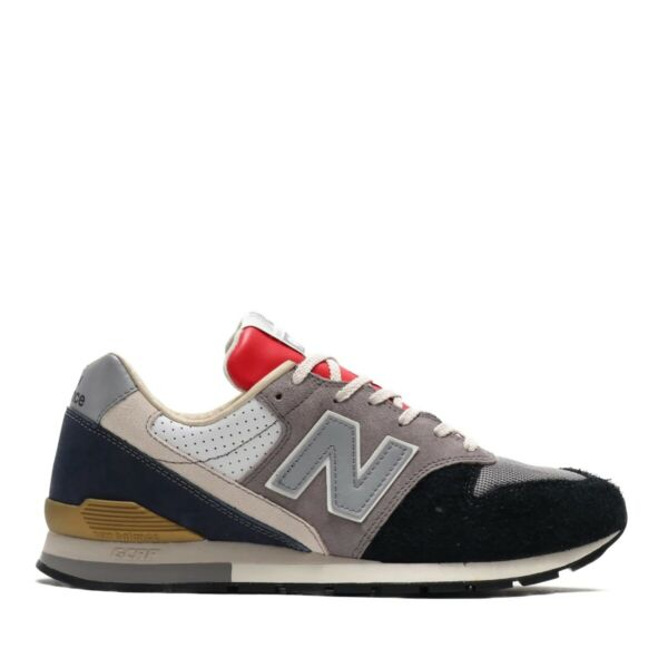 New Balance 996 Grey Navy Men Lifestyle Sneakers Limited Edition Rare CM996OG