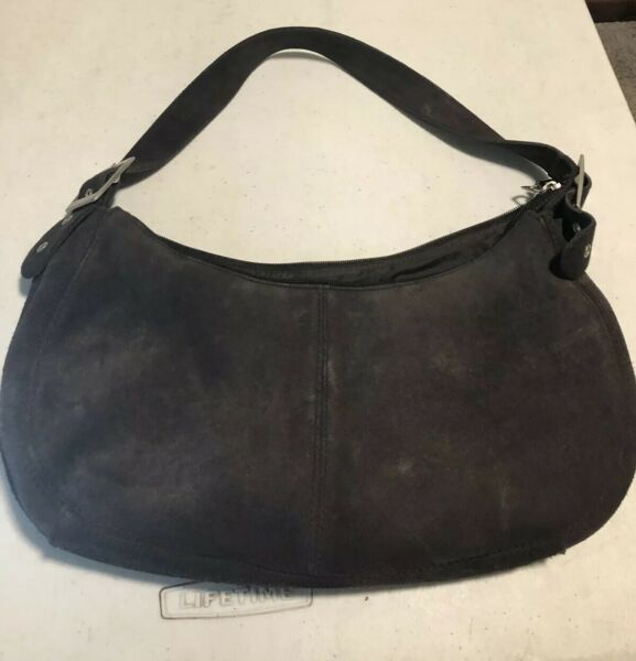 Brown Old Navy Purse Hand Bag Small Carrier Bag Purse aa35 $15.00