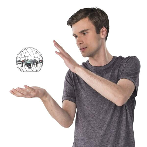 Air Hogs - Supernova Gravity Defying Hand-Controlled Flying Orb for Ages 8 and U