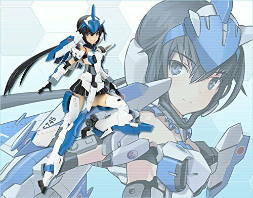 Kotobukiya Frame Arms Girl Stiletto Blue Impulse Plastic model kit Japan