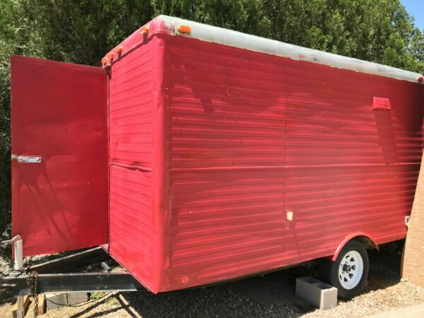 2000-7' x 12' Shaved Ice Concession Trailer 2011 Kitchen for Sale in New Mexico