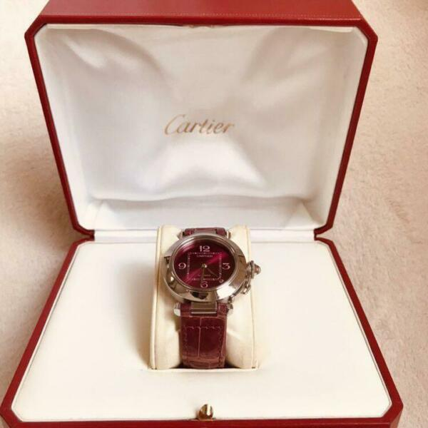Cartier Pasha C Wrist Watch 3000 Only World Limited Edition Christmas Model FS