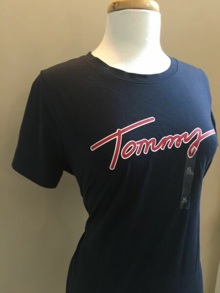 Tommy Women's Short Sleeve Casual Shirt. Size: XL $21.99