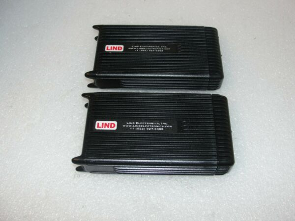 Lind Electric PA1580 1642 Automobile Adapter for Panasonic Toughbooks lot of 2 $49.00