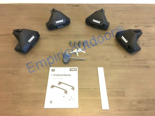 New Thule Evo Clamp 710501 amp; Thule One Key System 450400. Free Expedited ship $199.00