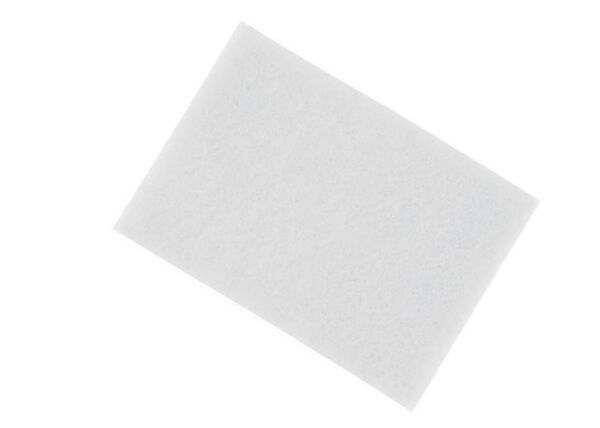 3M (TM) Scotch-Brite (TM) 7445 Hand Pads Light Cleansing White 6