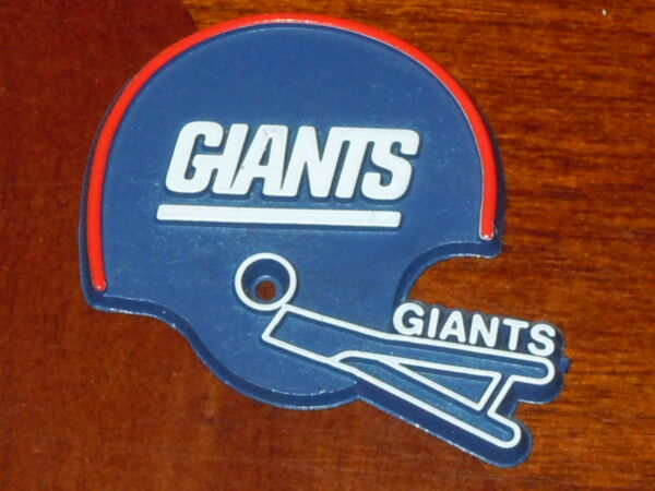 NEW YORK GIANTS Vintage Old NFL RUBBER Football FRIDGE MAGNET Standings Board