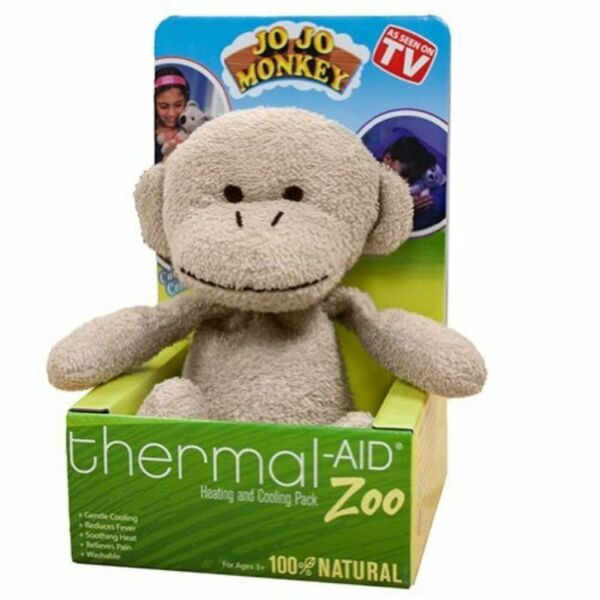 Stuffed Monkey Natural Heating amp; Cooling Pack By Thermal Aid $28.93
