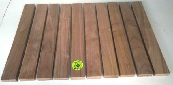 "34"" x 2"" x 16"" BLACK WALNUT Hardwood Lumber made by Wood-Hawk Pack of 6 or 10"