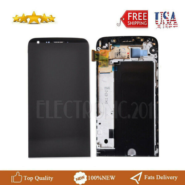 A+ for LG G5 VS987 LS992 US992 H840 H850 H820 LCD Screen Digitizer Frame Replace