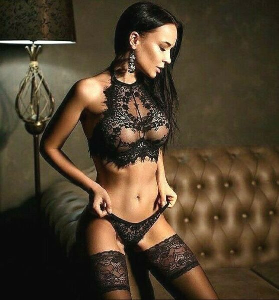 Sexy Lingerie Underwear Sleepwear Women G string Black Lace Babydoll Nightwear