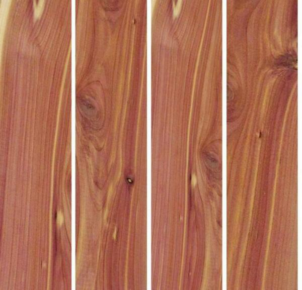 "34"" x 2"" x 16"" RED CEDAR Hardwood Lumber made by Wood-Hawk Pack of 6 or 10"