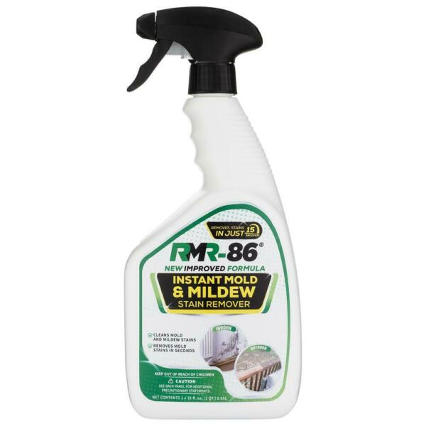 RMR 86 Instant Mold and Mildew Stain Remover Spray Scrub Free Formula