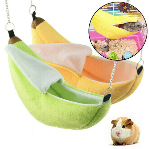 Cute Pet Warm Guinea Pig Bed House Small Animal Hamster Rat Hammock House Toy