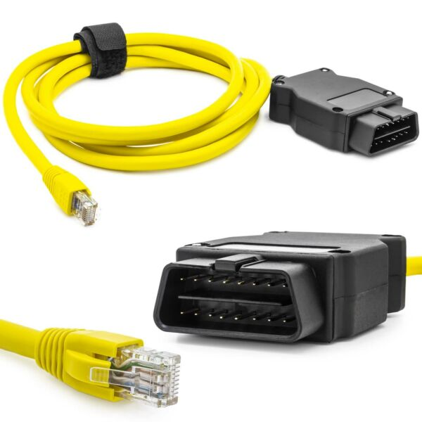 E Net Ethernet Interface Encoding RJ45 OBD Programming Diagnosis for Bmw For