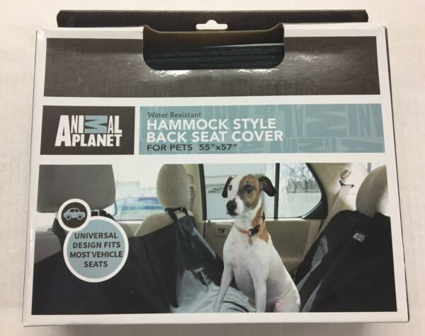 Dog Hammock Style Back Seat Cover Animal Planet For Pets Dog 55quot; x 57quot; $10.00