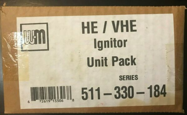 New  Weil McLain 511 330 184 Ignitor Unit Pack $40.00