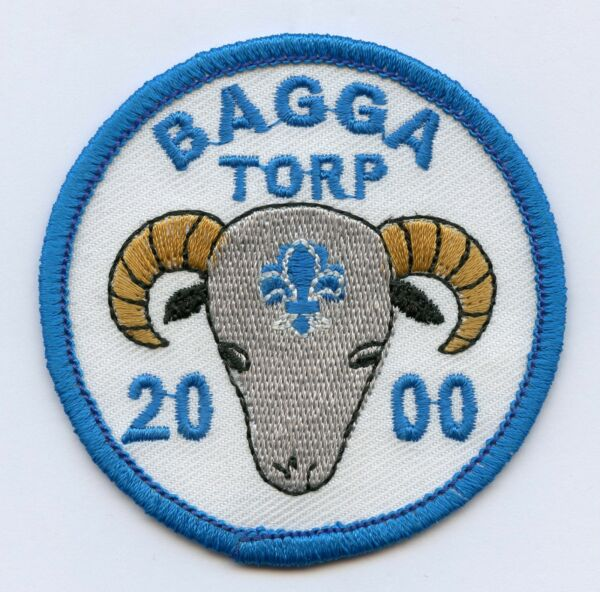 Sweden Swedish Bagga Toro 2000 Scout Patch Badge High Grade