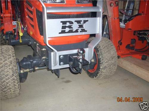 Kubota Tractor BX Series Front Receiver Hitch - Can also custom build for others
