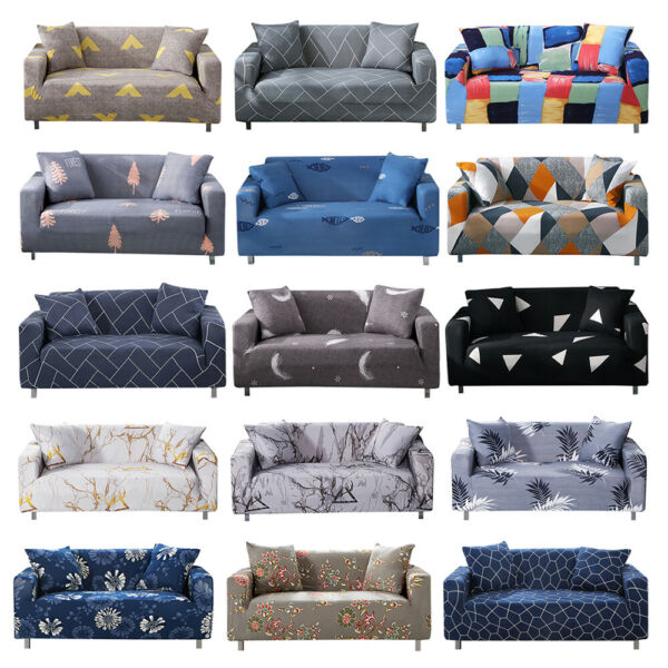 Printed Slipcover Sofa Covers Spandex Stretch Couch Cover Furniture Protector $16.13
