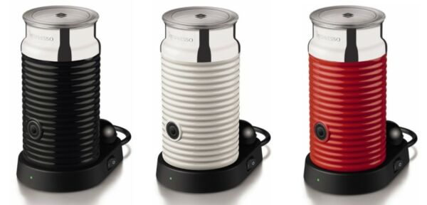 BRAND NEW AEROCCINO 3 NESPRESSO MILK FROTHERS BLACK RED OR WHITE FROTHER
